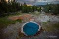 Yellowstone Hot Tub print