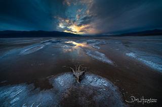 Sunset on the Salt