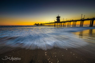 Huntington Beach Pier, California, pier, California pier
