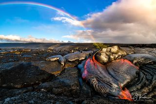 Lava Rainbow Love