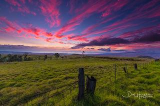 Saddle Road Sunset