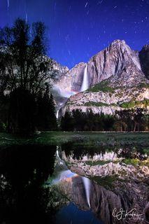 Yosemite Lunar Reflection