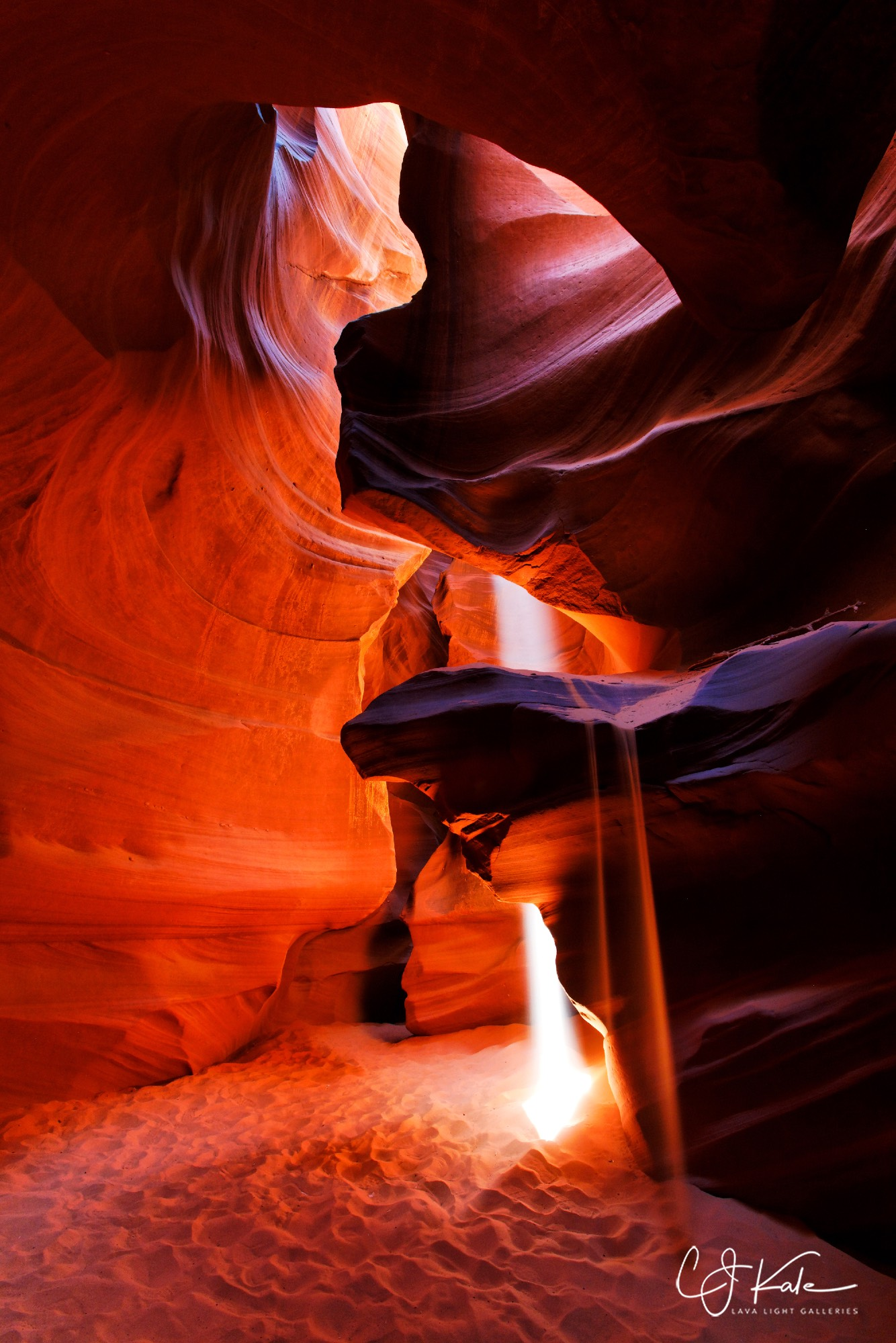 Antelope Canyon, Arizona.