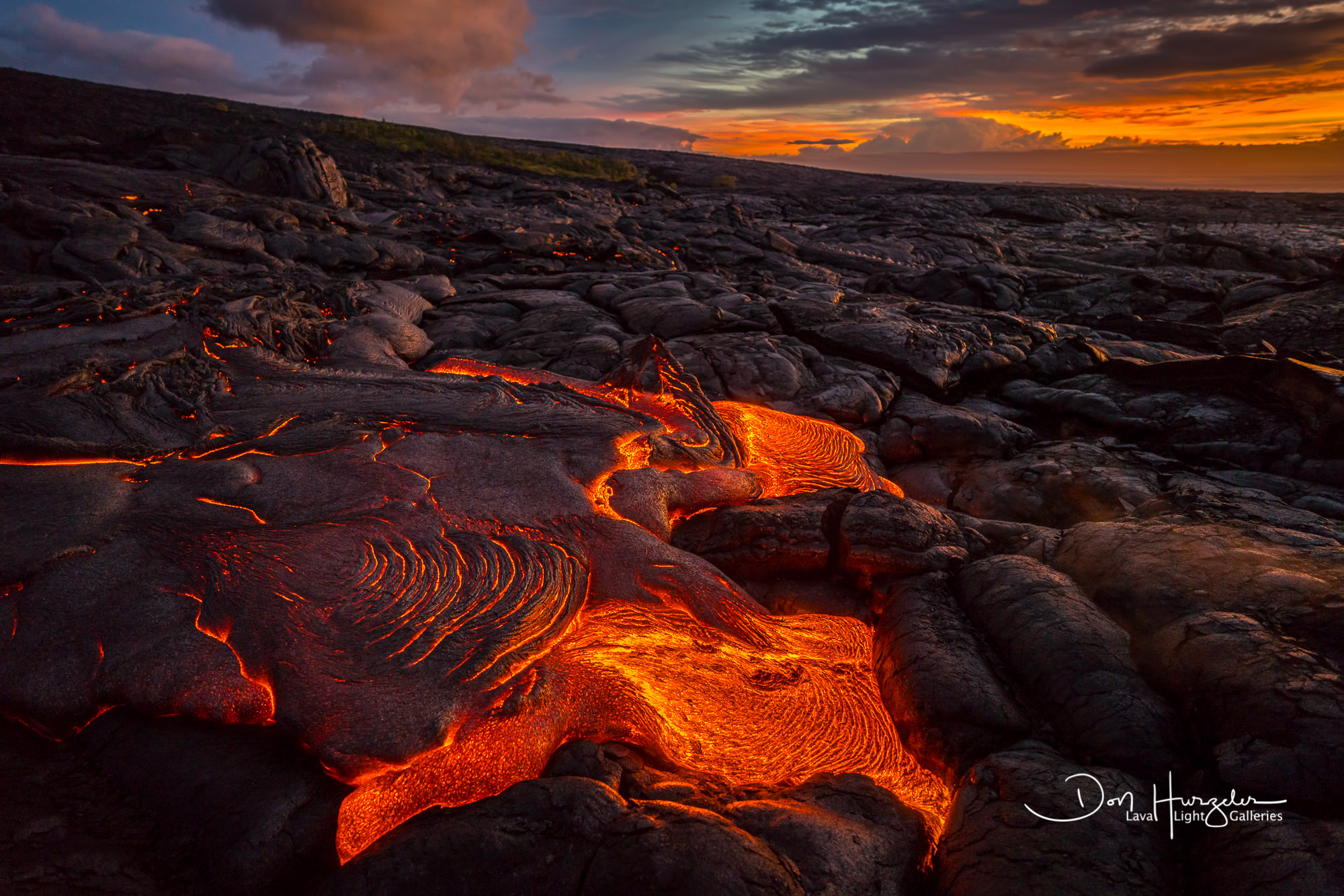 lava, lava flow, Kilauea, volcano, Hawaii eruption, photo