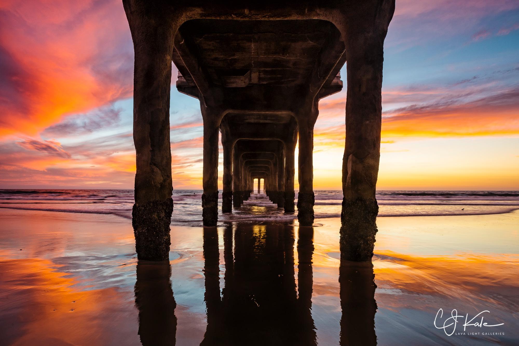 Manhatten Beach Pier.