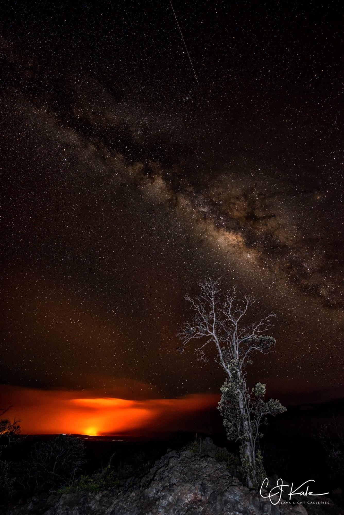 BIG shooting star.